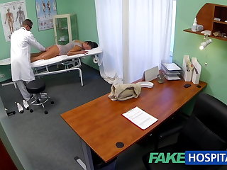 FakeHospital Dirty milf sex aficionado gets fucked by the water down