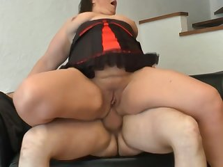 Amateur BBW french old lady sodomized and sinistral fucked