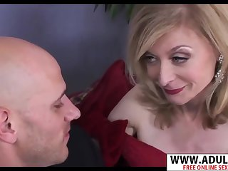 GILF llano gloves Nina Hartley hot porn dusting