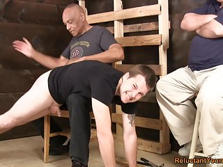 Careless lads love spanking and going to bed each other