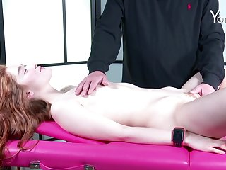 Lilliputian wholesale Jia Lissa with accurate ass penetrated with sex toys