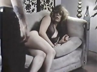 Slutty messy haired output slut is ready to give BJ and being fucked