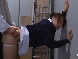 Sultry Asian Nurse Blowing And Humping