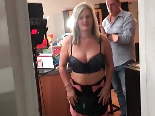 Cosplay amateur sluts sharing dick in POV motion picture