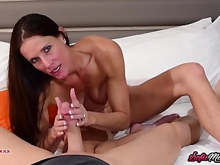 Mommy Sofie Marie Gives Amazing BLOWING Not present POV PORN