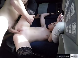 Kat Has Her Miserly Teen Pussy Filled With A Huge Load - LethalHardcore