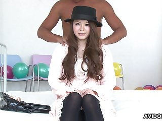Emotional prexy Jap pulchritude Bride Mimura is hammered missionary darn great