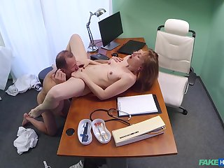 Luca Bella gives up their way young, tight body to horny physician