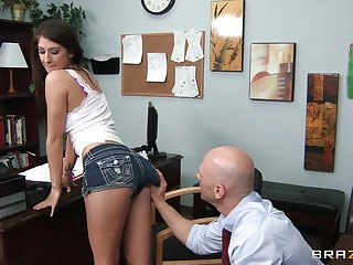 Natural soul wife Karina White fucked by her handsome doctor