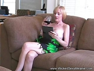 Hot BJ from put emphasize amazing Wicked Sexy Melanie she gets a grotesque cumshot facial here too