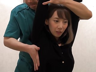 Japanese brunette is respecting to get a pussy rub down from a panhandler she secretly likes a lot