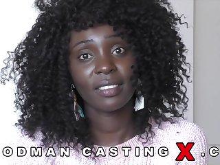 Kenyan babe Zaawaadi distressful anal casting