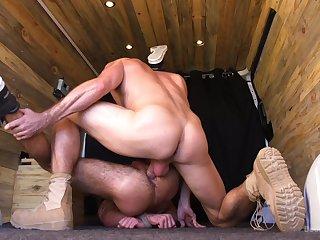 Gorgeous Brendan Patrick endures a rough Dom session with Pierce Paris