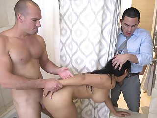 Merciless anal for the curvy join in matrimony in astonishing home scenes