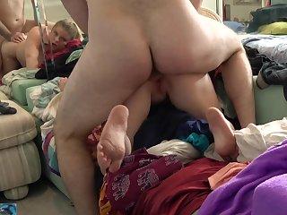 American, Ass, Big ass, Big cock, Big natural tits, Big tits, Homemade,