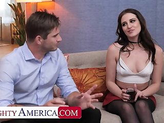 Naughty America: Aubree Valentine gets railed by her friend's husband insusceptible to PornHD